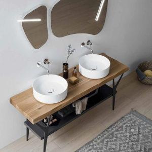 nuovo lavabo arredobagno showroom maison crea vigarano