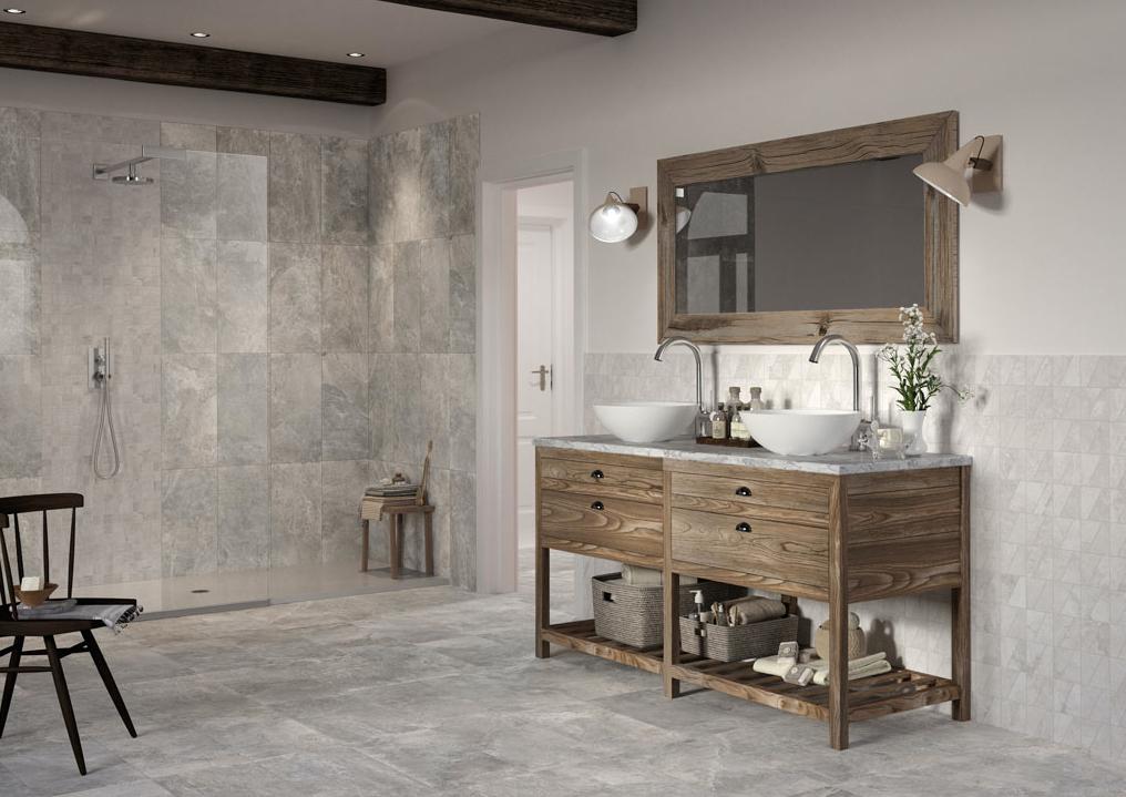 maison crea vigarano bagno legno