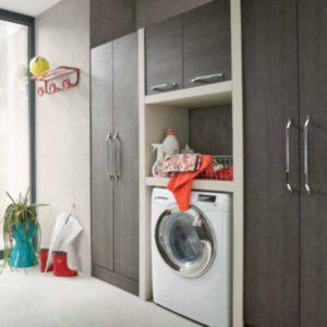 LAVANDERIA lavare stanza arredamento mobili lavatrice su misura ferrara maison crea vigarano arredo lavare