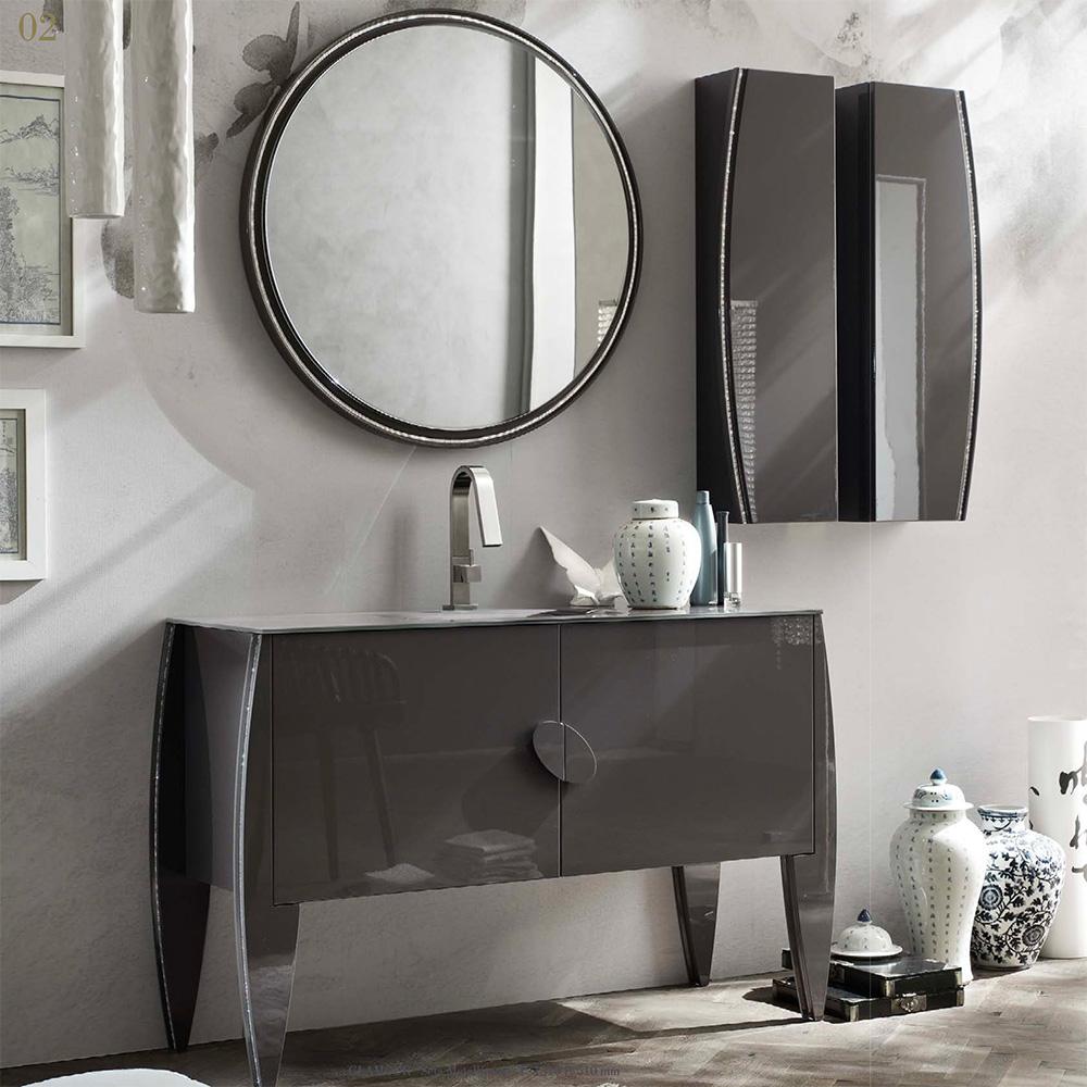 luxury glamour bagni maison crea ferrara vigrano arredobagno bagno arredo vendita mobili personalizzati